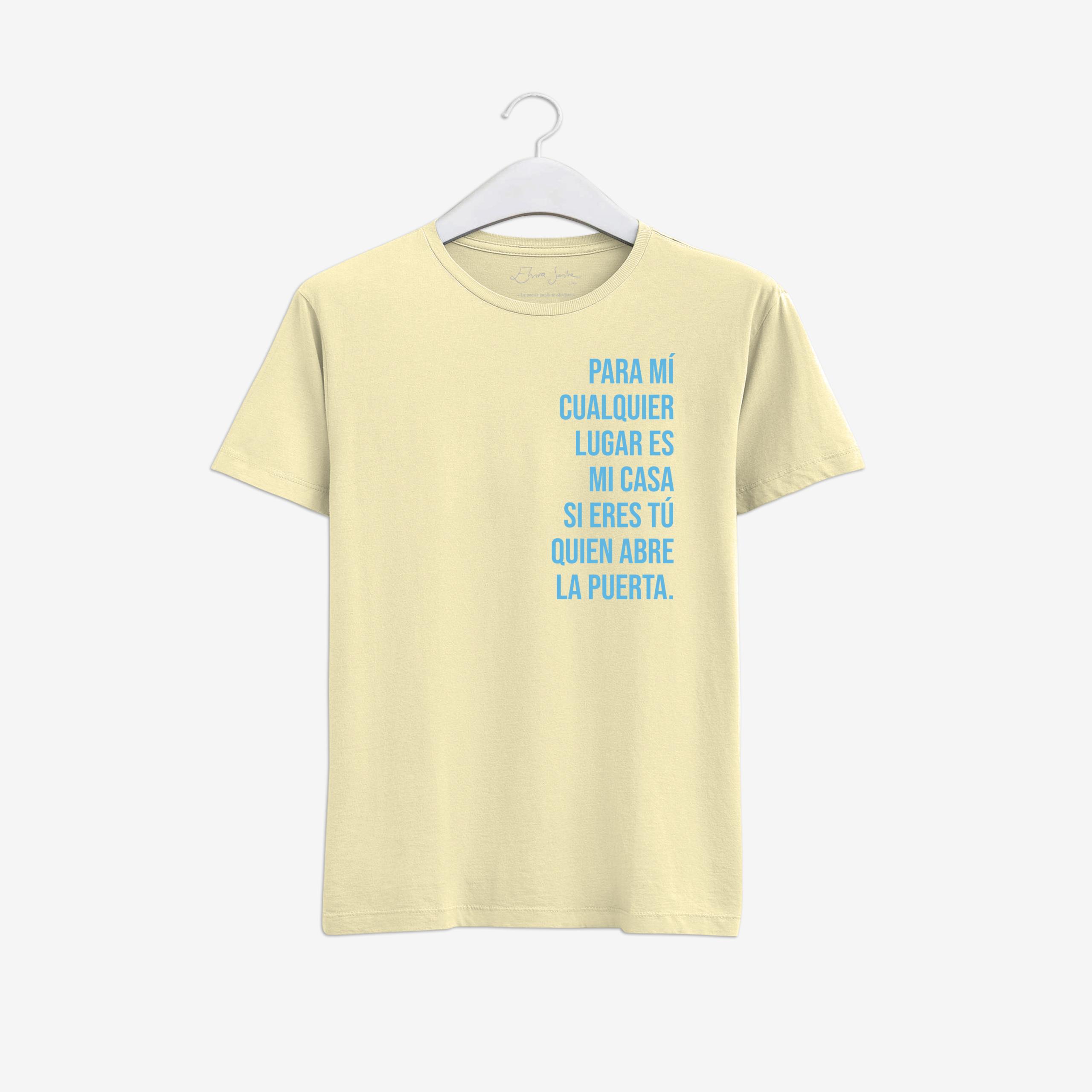Camiseta puerta
